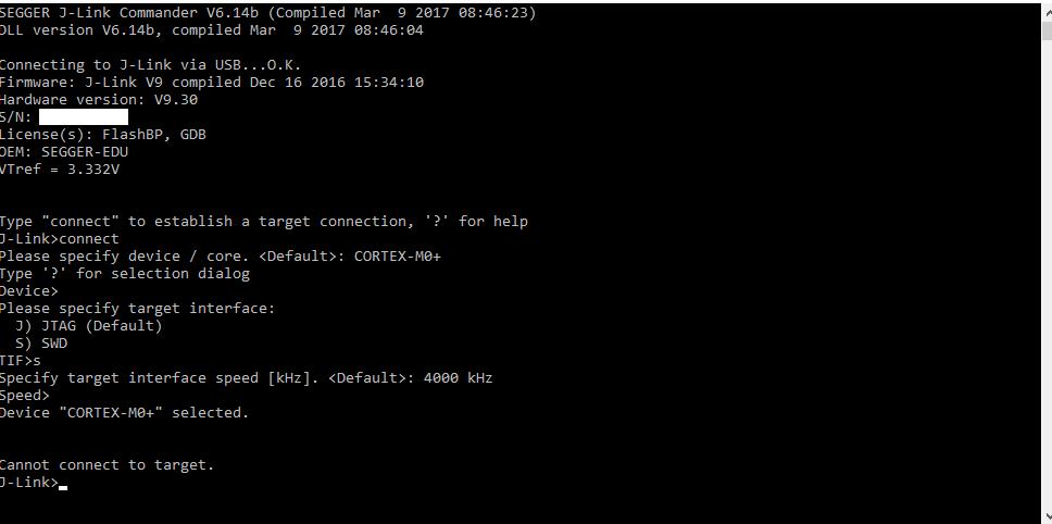 SOLVED] Firmware update broke J-Link EDU? - J-Link/Flasher