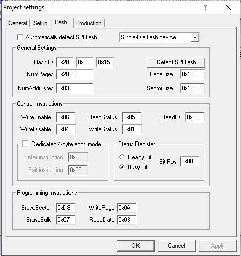 SOLVED] JFlashSPI weird behavior - J-Link/Flasher related - SEGGER
